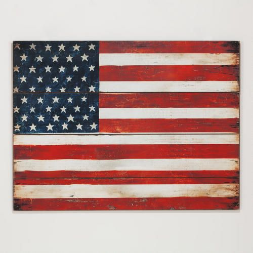 Wood Flag at Cost Plus World Market >> #WorldMarket Vintage Americana Collection