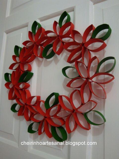 M s de 1000 ideas sobre adornos navide os para puertas en - Adornos de navidad con cartulina ...