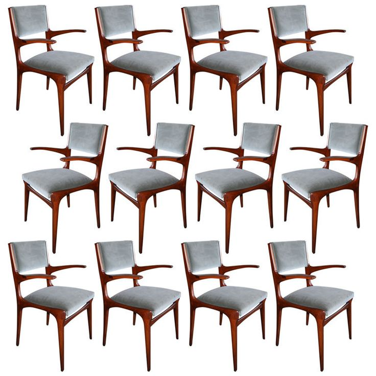 Buy Set Of 12 Carlo De Carli Dining Chairs By Adesso Eclectic Imports
