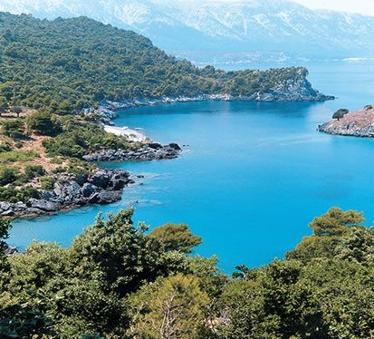 #Euboea Island, #Greece. The Island my great grandfather is from....beautiful!