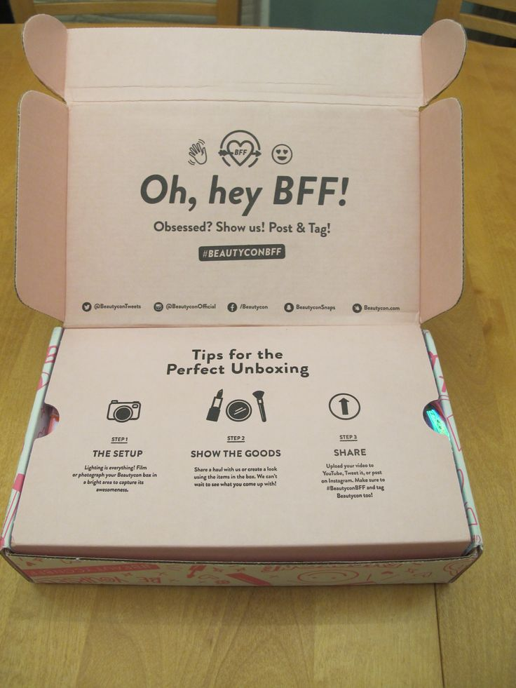 Obviously I couldn't eliminate one subscription box without replacing it with another, so enter the Beautycon BFF Box!