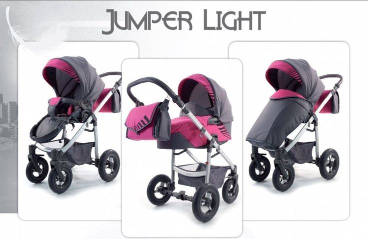 TAKO JUMPER LIGHT TRAVEL SYSTEM 3IN1 WITH CAR SEAT- PINK