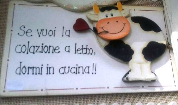 13 best images about frasi in cucina on pinterest - Colazione a letto amore ...