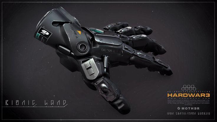 Bionic Hand, Edon Guraziu on ArtStation at http://www.artstation.com/artwork/bionic-hand-729e019f-f08c-48a4-9e44-c9049217c995