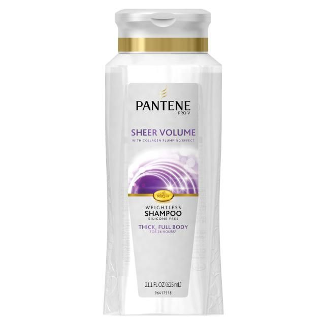 The 14 Best Shampoos, Conditioners for Fine Hair: Pantene Pro-V Sheer Volume Shampoo & Conditioner, $8