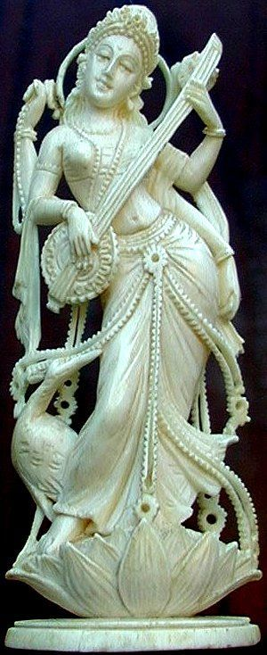 The Goddess of Learning, Saraswati