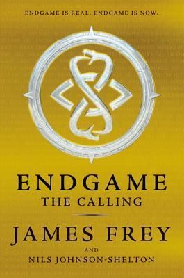 (YA FreJ) Endgame: The Calling by James Frey   Twelve thousand years ago, they came. They descended from the sky amid smoke and fire, and created humanity and gave us rules to live by. They needed gold and they built our earliest civilizations to mine it for them.