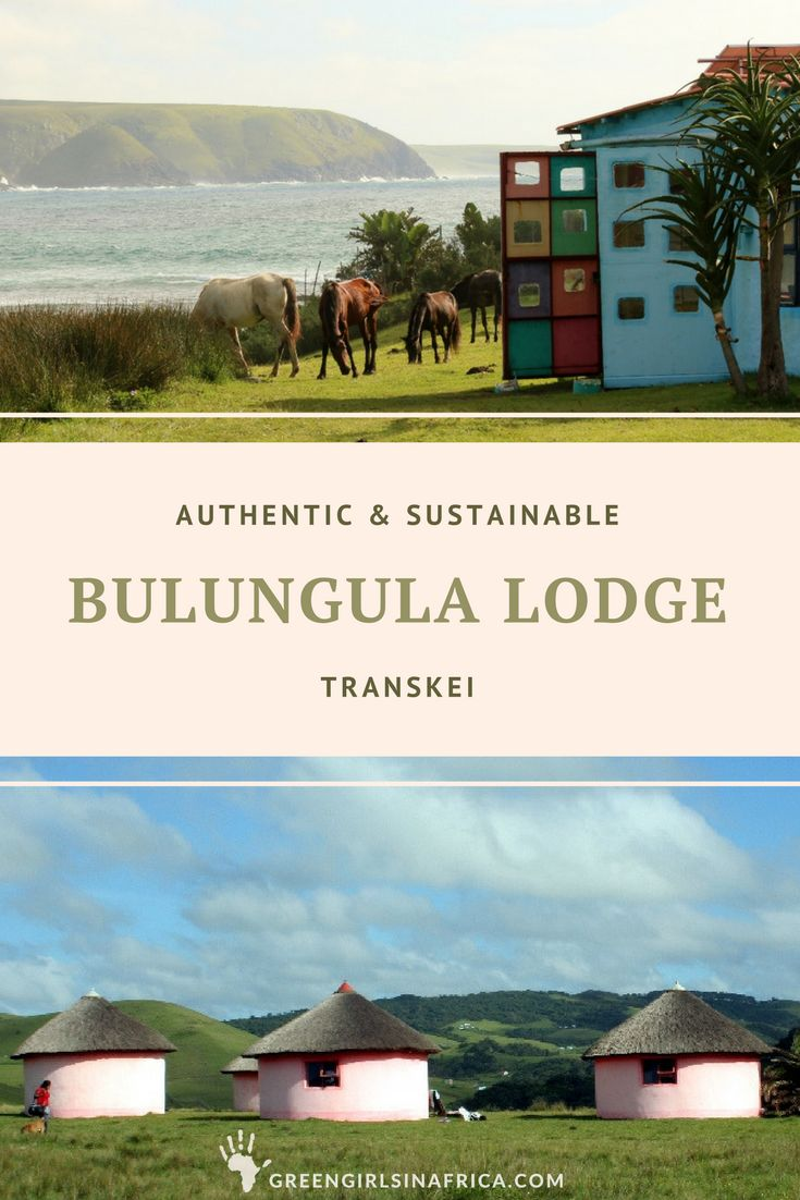 Walking over the last hill and finally glimpsing Bulungula Lodge, sitting on the edge of the world, is breath taking and makes the long and tough journey through the Transkei completely worthwhile (Eastern Cape, South Africa).