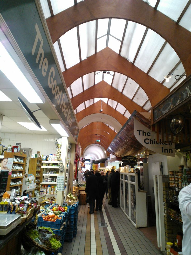 The Good Food Shop and The Chicken Inn, The English Market, Cork.