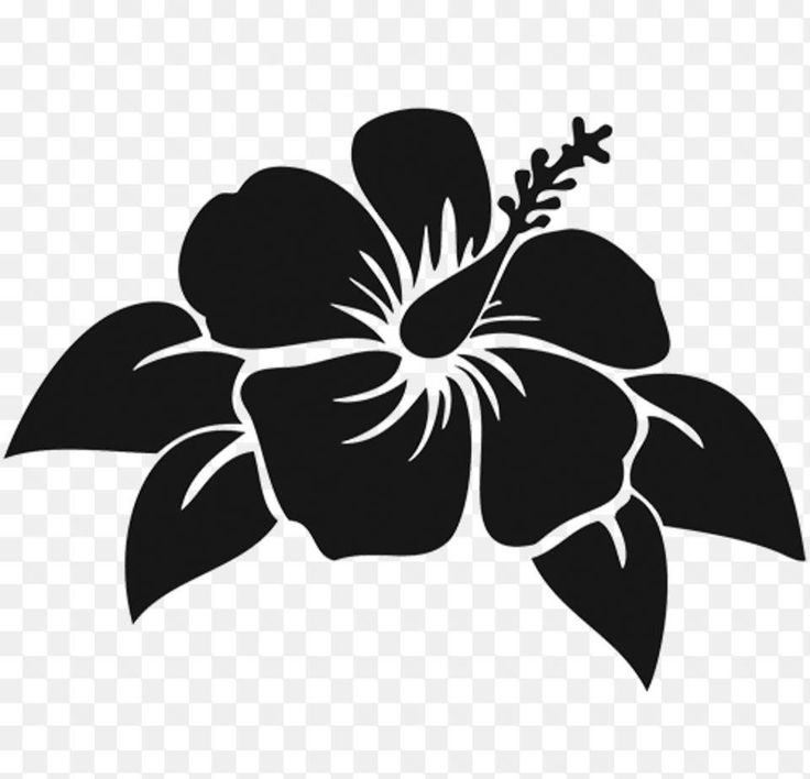 1564 Best Silhouette Flowers Images On Pinterest Paper