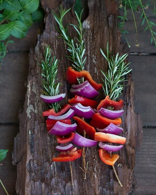 My Happy Dish: Rosemary Skewers from Erin Gleeson's Book 'The Forest Feast' via Sweet Paul