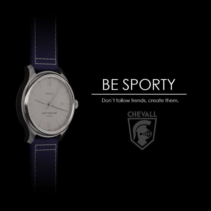 Miyota automatic movement with a blue canvas strap and a sporty case design #watch #wristwatch #sport #fashion #mens fashion #blue https://instagram.com/chevall_watches/