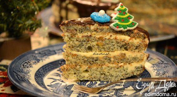 Вероятно этот торт знаком очень многим, а я торты пеку редко, поэтому мне понравился этот легкий вариант торта с богатым сладким вкусом. И надеюсь понравится вам тоже.