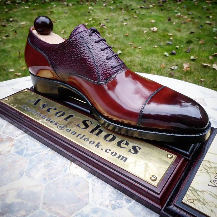 Ascot Shoes — How unique is this piece here for our SA friend! I...
