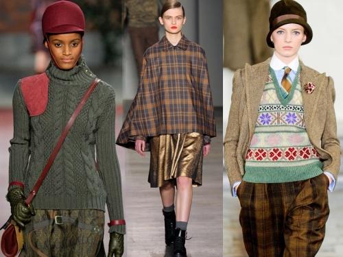 Brytyjski styl country, jesień-zima 2012/13