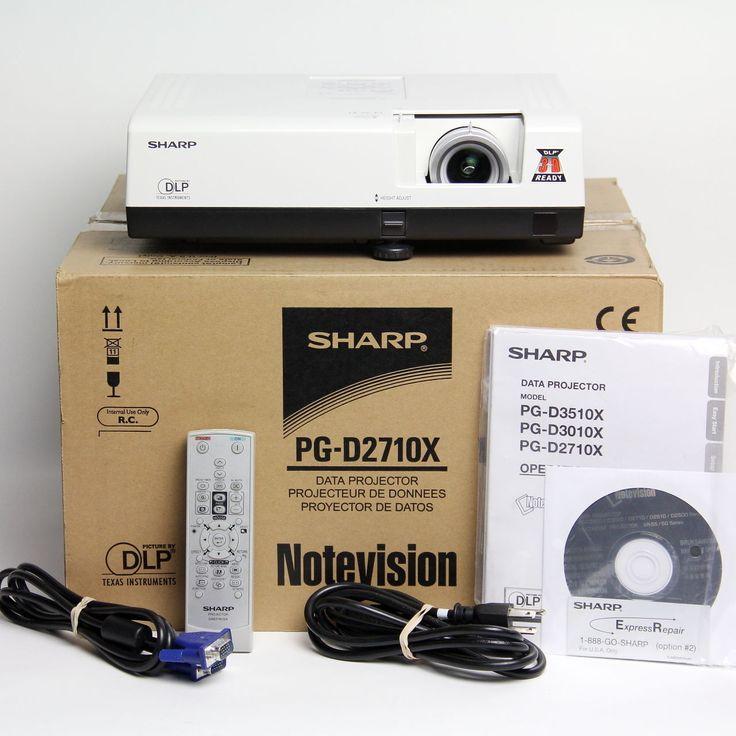 Sharp PG-D2710X Projector 2700 Lumen 3D Ready DLP Projector #1