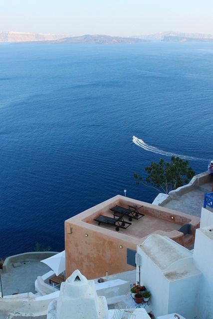 Santorini by ppmalek, via Flickr