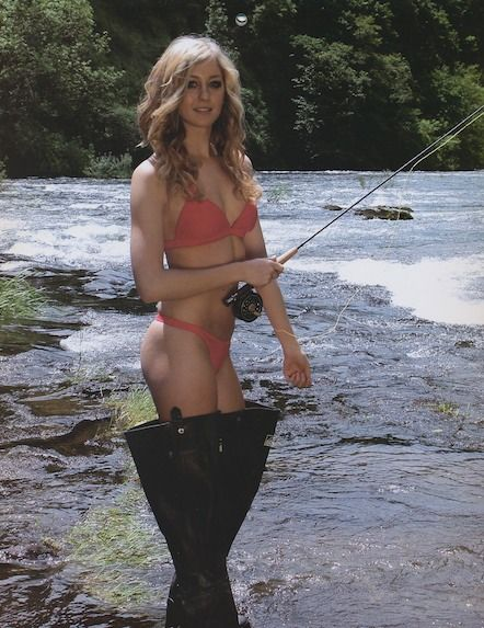Nude Fly Fishing Women