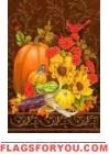 Autumn Elegance House Flag
