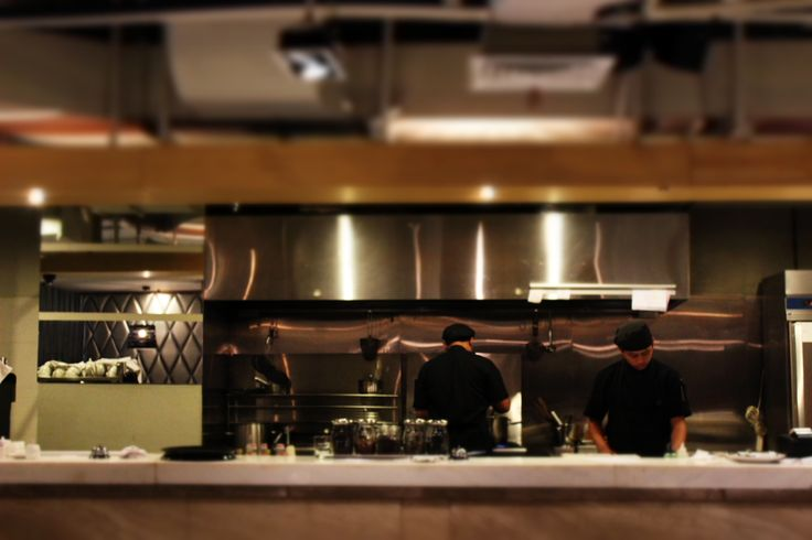 Our open kitchen...