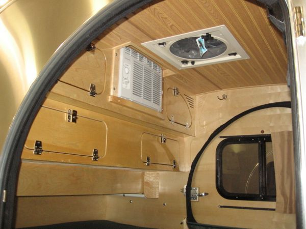 17 best images about teardrop campers on pinterest for Teardrop camper interior ideas