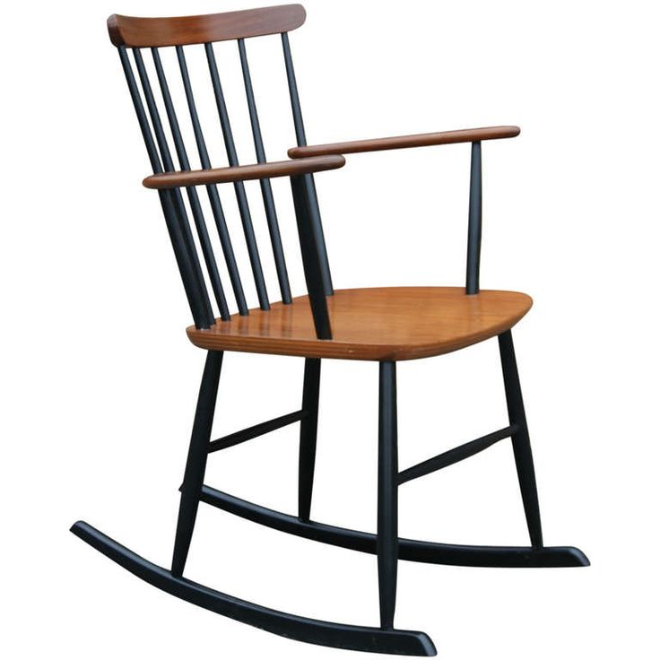 A 1960s Danish Teak Rocker Rocking Chairs And Chairs