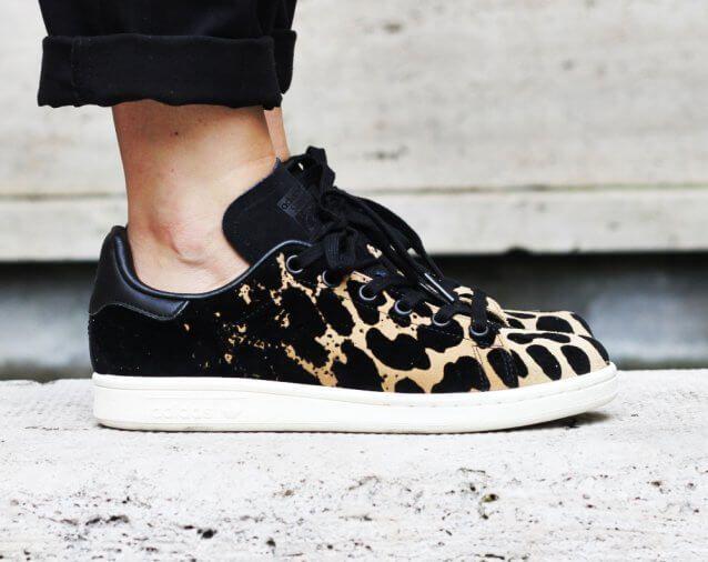 Adidas Stan Smith Leopard