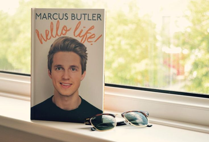 Follow my blog with Bloglovin One of the original 'Youtubers' Marcus Butler has done the perhaps unoriginal thing and wrote a book titled, 'Hello Life!' It seems that if someone has over 1 million ...