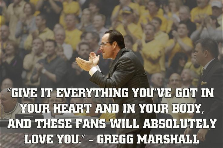 Shocker Motivation by Head Men's Basketball Coach Gregg Marshall.