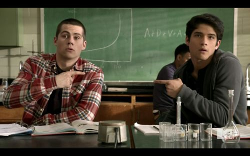Scott and Stiles Teen Wolf