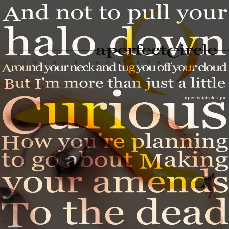 a perfect circle the noose lyrics