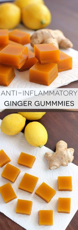 Anti-Inflammatory Ginger Gummies