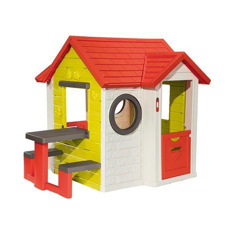 SMOBY Spielhaus Mit Picknicktisch