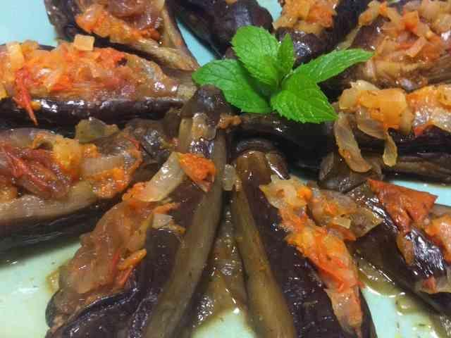 坊さんの気絶(トルコ料理・ナスとトマト)の画像
