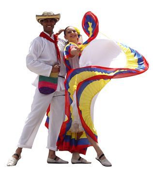 Folkloric clothes:  the traditional dress of Colombia is iconic in Latin America being diversified in nature and having bright and colorful tendencies
