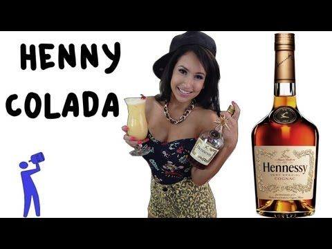 How to make a Henny Colada - Tipsy Bartender - YouTube