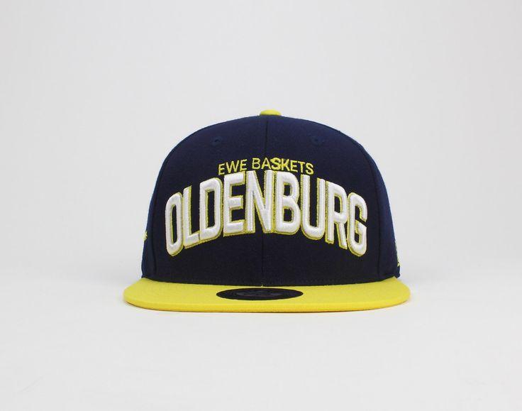 EWE Baskets Oldenburg - Authentic #navy #dunkelblau #yellow #gelb #beyellow #dasistoldenburg #oldenburg #ballislife #easycreditbbl #bbl #basketball #cap #snapback #hoopscollection #hoops #collection #lobsterandlemonade #lobster #and #lemonade