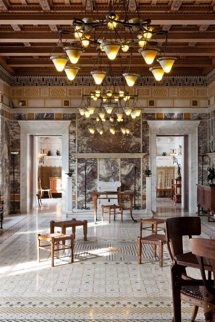Villa grecque kérylos palais antique de la côte d azur
