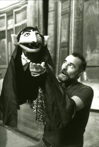 "Jerry Nelson (""The Count"" from Sesame Street"") the Count used to scare me!"