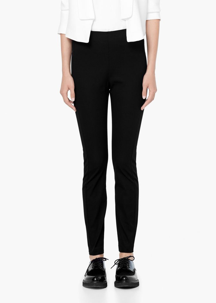 Cotton leggings - Women | MANGO