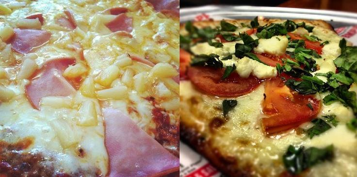 Which pizza close up would you go with? Left or right? #BMPP    www.bigmamaspizza.com/locations/    #Pizza #Foodie #PizzaParty #Delicious #Eat #Love #Repeat #Hungry #Nom #NomNom #Yummy #BeautifulPizza #PizzaLover #PizzaDelivery #Italian #Lunch #Dinner #PizzaGram #LA #California #YumYum #FoodComa #LosAngeles #Tasty #Delish #GoodEats #InstaFood #InstaPizza #GoodFood
