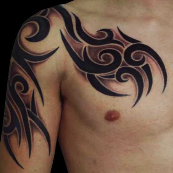 Tribal tattoos designs for men is not just a mere accessories. As the appeal of this tattoo is very cool if you could enjoy it.