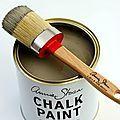 Aujourd'hui, je viens vous parler d'une peinture que je découvre depuis quelques jours : la peinture à la craie d'Annie Sloan  ...