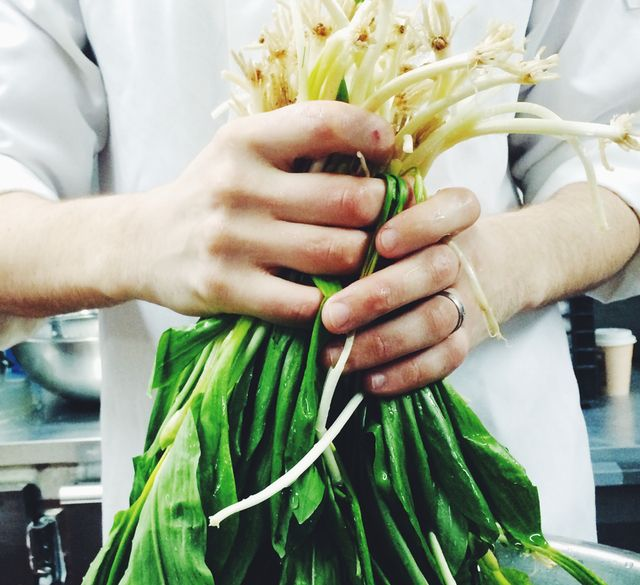 The Gothamist writes about NYC's very first ramps dish of the season from Tarallucci e Vino's Chef Andrew Welch.