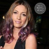 ¡Quiero este pelo! - Mechas violetas para castañas: modo de uso