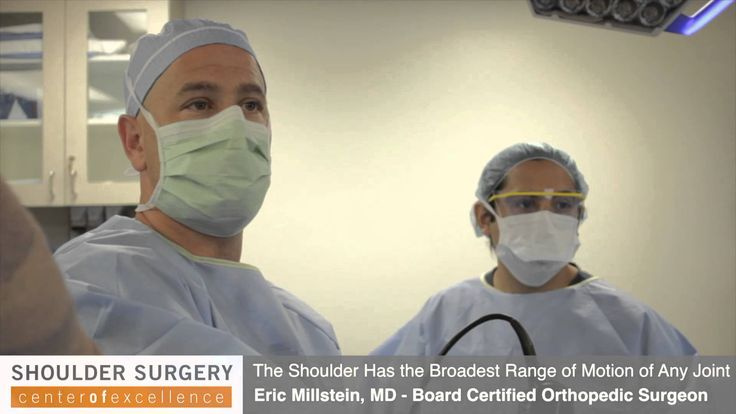 Arthroscopic #Shoulder Surgery in Los Angeles Performed by Dr. Millstein