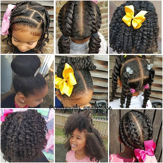 634 best images about Hairstyles for girls on Pinterest  Black