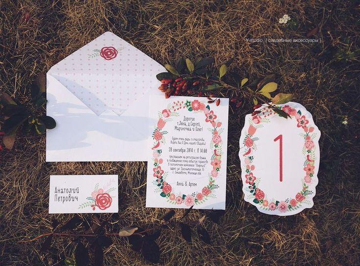 Фото 3197365 в коллекции Свадебные пригласительные - Y-studio - приглашения и аксессуары