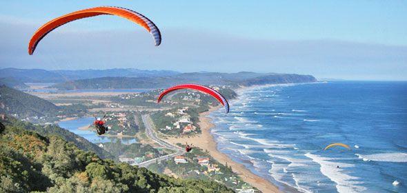 Paragliding in the Garden Route. http://gardenroute.hotelguide.co.za/