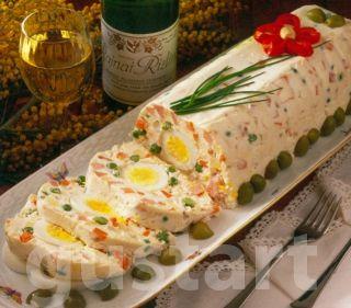 Lajos Mari konyhája - Gyönyörűséges orosz hússaláta tojással